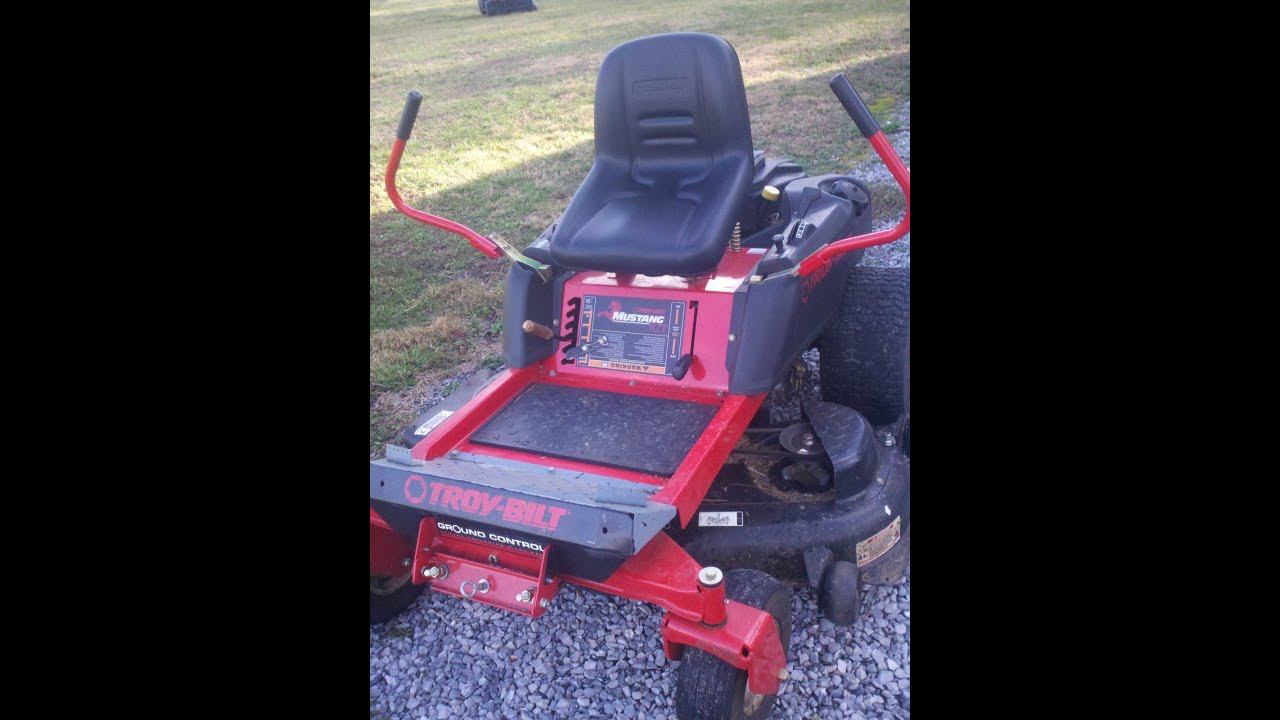 maxresdefault troy built mustang pto zerotun pto fail no belt blades turn PTO Finish Mower at nearapp.co