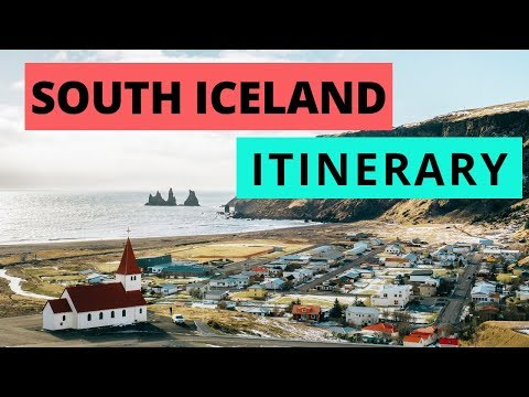South Iceland Itinerary | 7 MUST SEE places