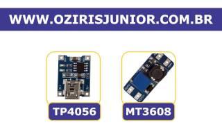 Video TP4056 + Modulo Regulador Dc Step-up Mt3608 + bateria 18650 - Testes download MP3, 3GP, MP4, WEBM, AVI, FLV Juli 2018