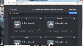 Unity3D + Parse урок 1: Установка