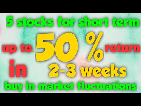 5 stocks 50% return | best stocks to buy now | short term in