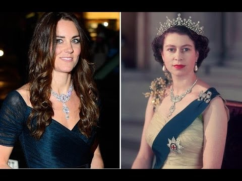 Kate Middleton dazzles at National Portrait Gallery in diamond necklace