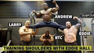 THE INCREDIBLE SHOULDER WORKOUT