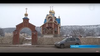 Строительство церкви Успения Пресвятой Богородицы в Каменке
