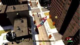 Spider-Man : Web of Shadows - Open World Gameplay [PC]