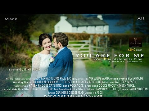 Love My Dress Bride's Wedding Highlights Film, Mark and Alison You Are for Me 4K UHD