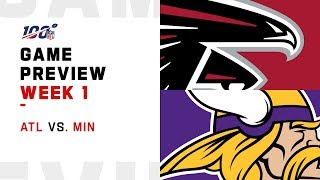 Atlanta Falcons vs. Minnesota Vikings | Week 1 Game Preview | Move the Sticks