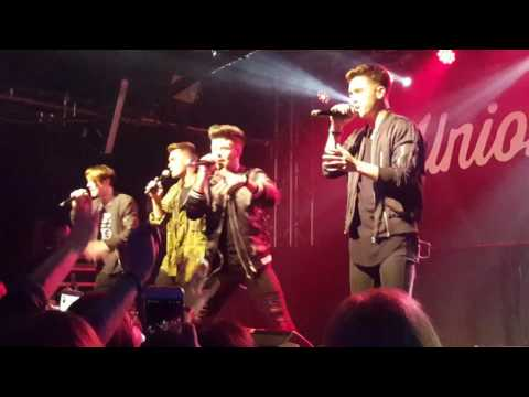 Union J - Mercy (Shawn Mendes Cover) O2 Academy Oxford