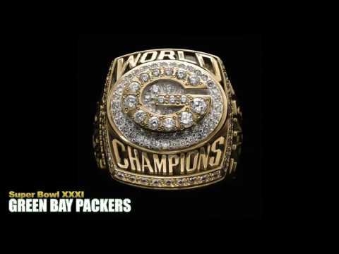 51 years of Super Bowl rings