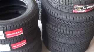 Repeat youtube video 【中国製の動きに驚き!!】いろんな新品スタッドレスタイヤの硬さ比べしてみた! タイヤ テスト レビュー