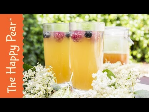 Homemade Elderflower Cordial Recipe - The Happy Pear