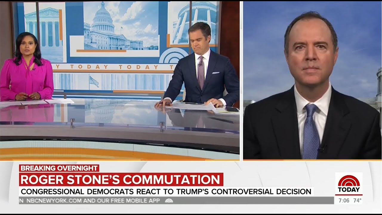 """Rep. Schiff on NBC's Today Show: """"If You Lie for the President, You Get a Pass from Donald Trump"""""""