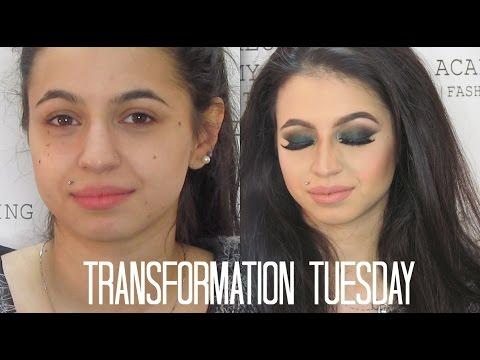 Smokey Arabic look | Transformation Tuesday - YouTube