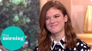 Rose Leslie On Kit Harington, Game Of Thrones And Downton Abbey | This Morning thumbnail