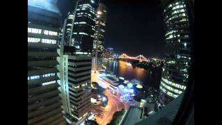Eagle Street by Night - Time-lapse GoProHD Hero 2