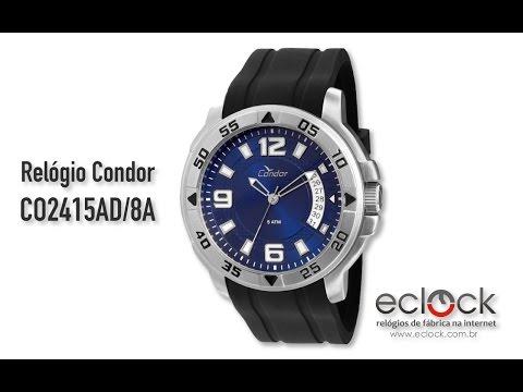 568c8c888e4 Relógio Condor Masculino CO2315AC 8C - Eclock by Eclock Relógios