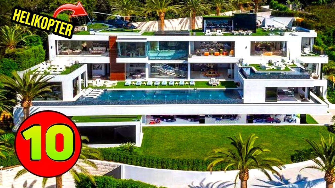 10 Najbardziej niesamowitych domów na świecie
