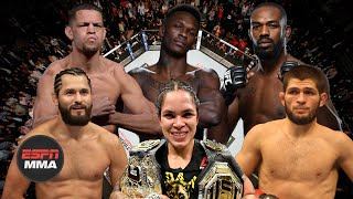 UFC's biggest moments in 2019   ESPN MMA