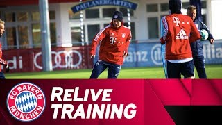 ReLive | FC Bayern Training w/ Müller, Vidal & more!