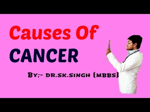 Causes of Cancer for NEET/AIPMT/AIIMS medical  entrance exam and class 12th. Biology
