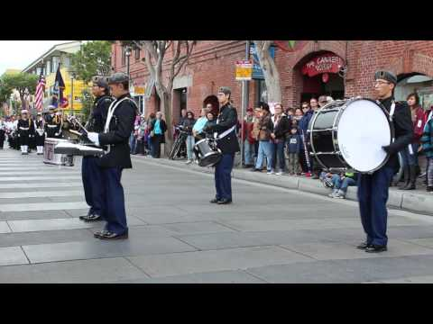 Balboa High School Drum Corps @Veterans Day Parade 2015