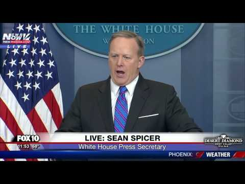 WATCH: Sean Spicer Explains To Reporter How Those With Health Insurance Really Feel (FNN)