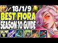 150.000+ Damage 1v9 FIORA MONSTER! Best Fiora Season 10 Build Guide! LoL Top Lane Fiora S10 Gameplay