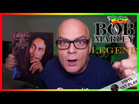 "Bob Marley ""Legend"" Vinyl First Play"