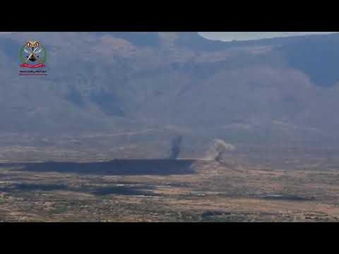 شاهد ..  فيديو يوثق معركة تحرير قعطبة بالضالع