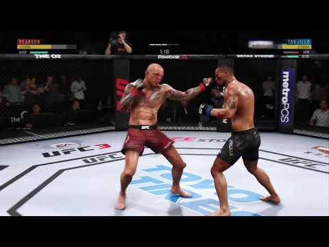 EA SPORTS UFC 3: Pearson vs. Trujillo (Online Quick Match) Pt.2