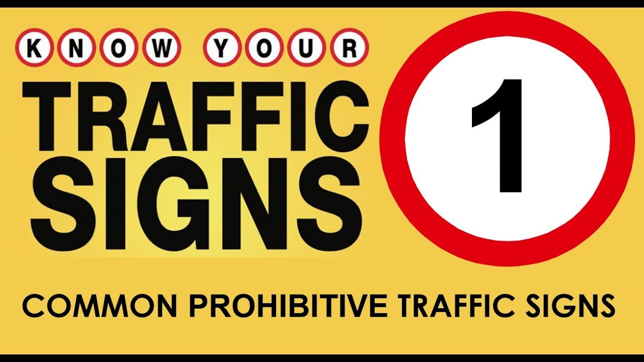 Watch How to Understand Traffic Signs video