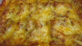 Simple Easy Lasagna Recipe - How To Make Homemade Italian Lasagna