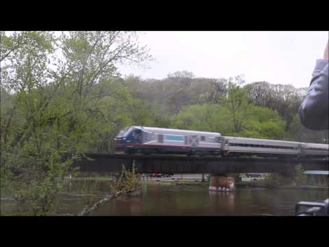 Siemens Charger Demo Unit on Amtrak P950
