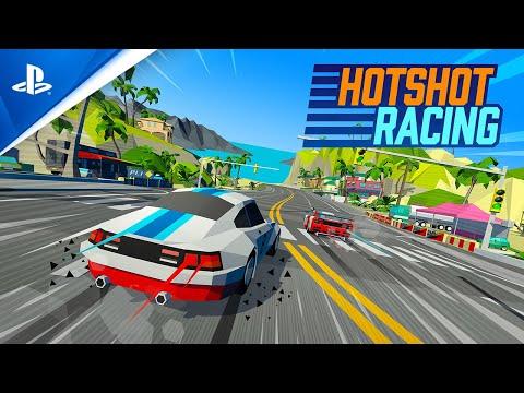 Hotshot Racing - Release Date Trailer | PS4