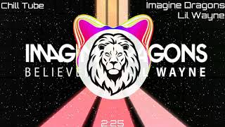 Imagine Dragons - Believer ft. Lil Wayne ( Bass Boosted *hard* ) Video
