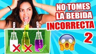 PESCADO LÍQUIDO Oh Nooo! NO TOMES LA BEBIDA INCORRECTA! - RETO SandraCiresArt