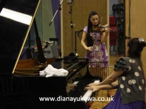 Violinist Interview Celebrity Radio - Diana Yukawa (Part 2)
