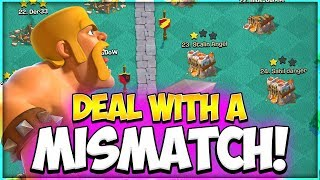 Every TH 9 Must Learn How to Deal with a MISMATCH | TH 9 Vs TH 11 Attack Strategy in Clash of Clans