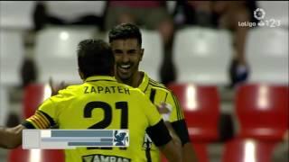 Resumen de CD Lugo vs Real Zaragoza (3-3)