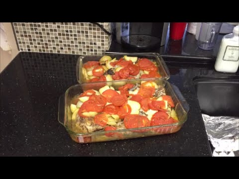 Uncle Mike Cooks Jordanian Dinner
