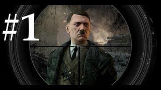Sniper Elite V2 Walkthrough / Gameplay Part 1 - OpTicSSoH