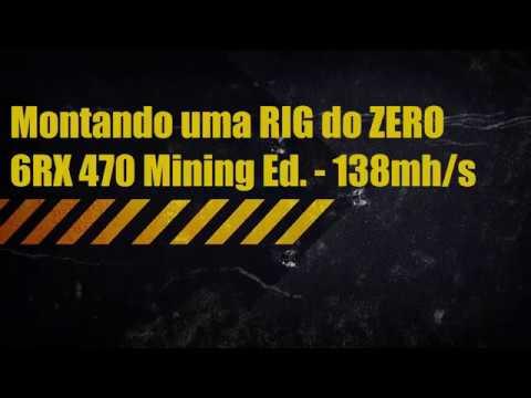 Montando uma RIG do ZERO - 6RX 470 Mining Edition - 138Mh Ether
