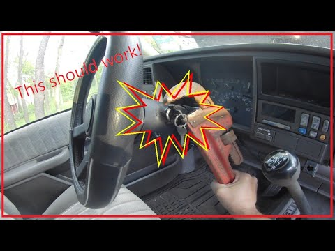 How To Fix An Ignition Switch On A 1992 GMC Truck