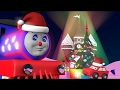 Christmas movies cartoons for children. Choo-Choo train celebrates New Year's Eve at candyland