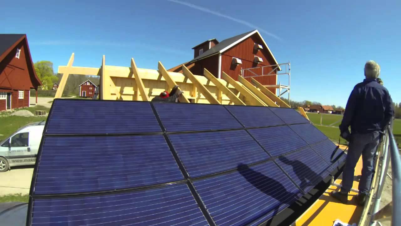 Ecokraft Installation Av 4100w Komplett Solcellspaket