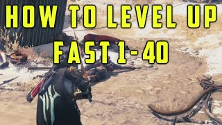 Destiny How To Level Up From 1-40 Quickly   Reach Level 40 Fast and Easy