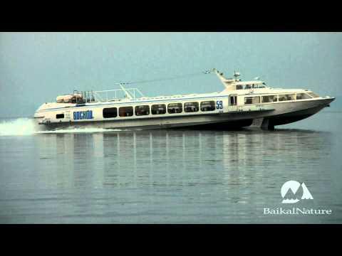 Voskhod boat, 2nd type of hydrofoil on Lake Baikal