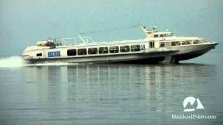 Voskhod boat, 2nd type of hydrofoil on Lake Baikal
