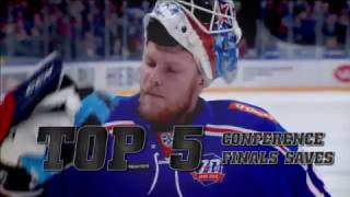 KHL Top 5 Saves for Conference Finals