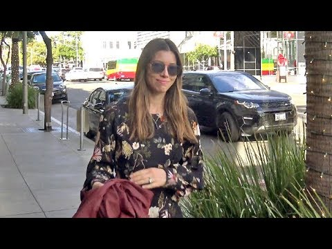 See How Jessica Biel Reacts When Asked About Having...